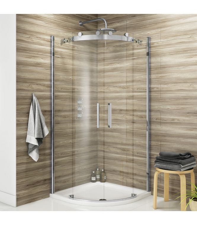 Vodas 8 Frameless Quadrant Shower